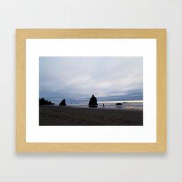 Ocean by Dusk Framed Art Print