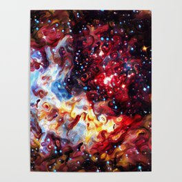 ALTERED Large Magellanic Cloud Poster