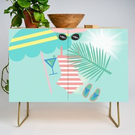 Palm Springs Ready Credenza