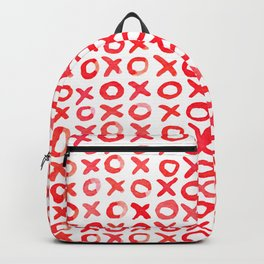 Xoxo valentine's day - red Backpack