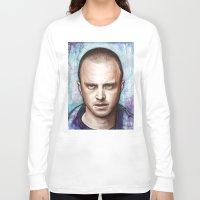 jesse pinkman Long Sleeve T-shirts featuring Jesse Pinkman by Olechka