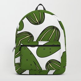 Green Pickles Backpack