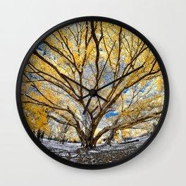 Gorgeous Big Tree Wall Clock