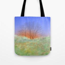 Trees at Sunset Tote Bag