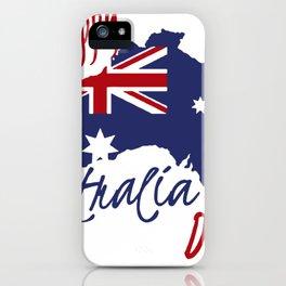 Happy Australia Day 2018 iPhone Case