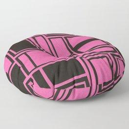 Windows & Frames - Pink Floor Pillow