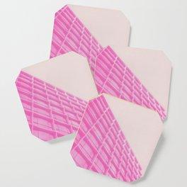 Pink Building Coaster