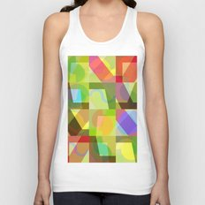 Colorful Truth. Shuffle 1 Unisex Tank Top