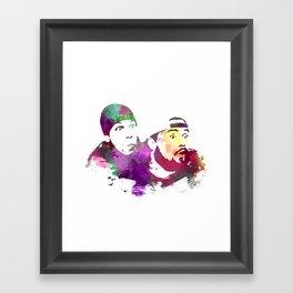 Jay and Silent Bob (Clerks) Framed Art Print