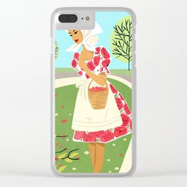 Brisk Spring Day  Clear iPhone Case