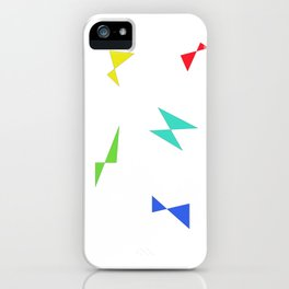 Simple butterfly iPhone Case