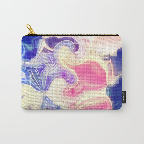 GOOD VIBES - Be Happy #Abstract #1 Carry-All Pouch
