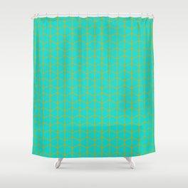 Turqoise Shower Curtain