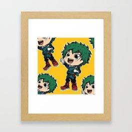 Midoriya Izuku Framed Art Print