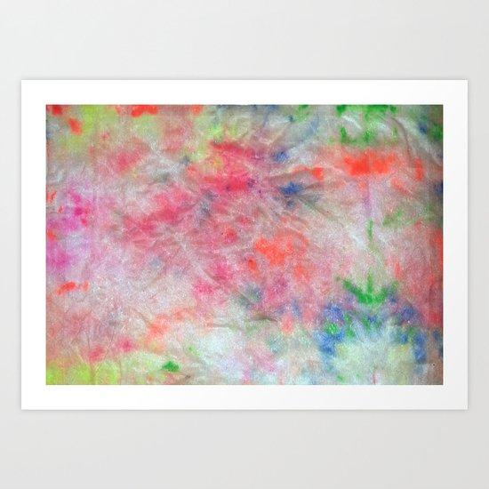 Fluorescent Colour #2 Art Print