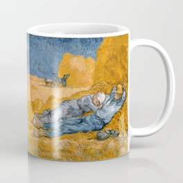 Noon - rest from work by Vincent van Gogh Coffee Mug