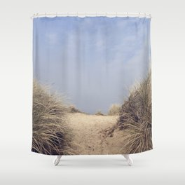 The Way To The Beach II Shower Curtain