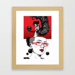 Flight of Fancies Framed Art Print