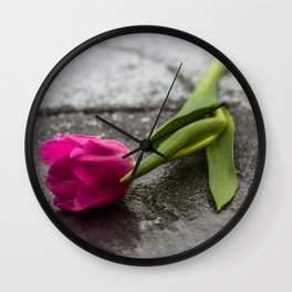 tulip_6 Wall Clock
