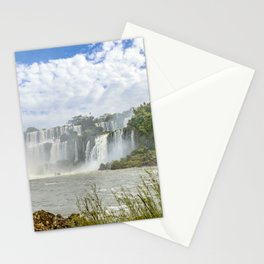 Waterfalls Landscape at Iguazu Park Stationery Cards