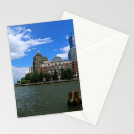 Manhattan And Hudson River Stationery Cards