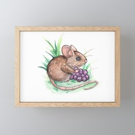 Little Mouse Framed Mini Art Print