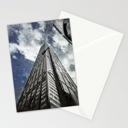 Chicago [Sky cut N°425] Illinois, Usa Stationery Cards