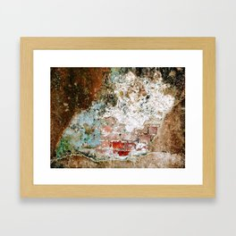Brick by Brick Framed Art Print