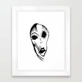 Greta Goth Framed Art Print