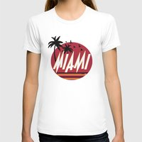 miami T-shirts featuring Miami by FRSHCo.