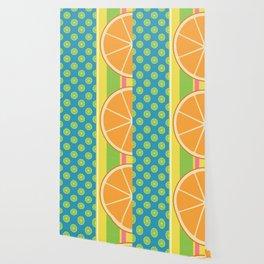 Summer Citrus Party Wallpaper