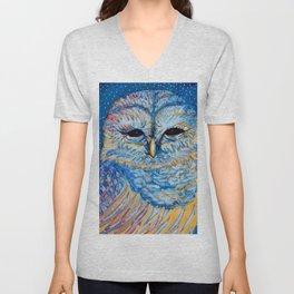 Magic Owl Unisex V-Neck