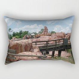 Big Thunder Mountain Rectangular Pillow