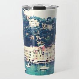 A vintage day in Portofino Travel Mug