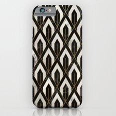 Art Deco Marble Pattern iPhone 6s Slim Case
