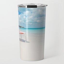 Beach chair in Grace Bay Travel Mug