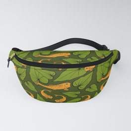 Koi Pond Pattern Fanny Pack