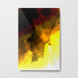 Let it burn Metal Print