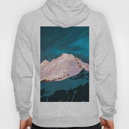 Mt Baker Blue Hoody