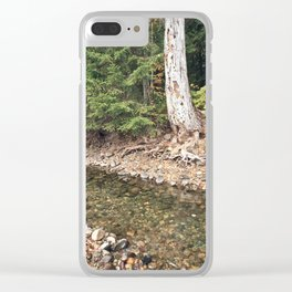 The Last Water before Winter Clear iPhone Case
