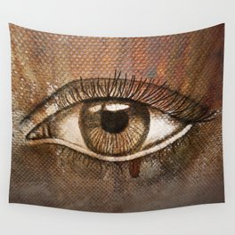 Refracted Canvas Wall Tapestry