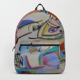 inspiration from Kandinsky . illustration . Backpack