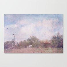 Somewhere in Texas Canvas Print