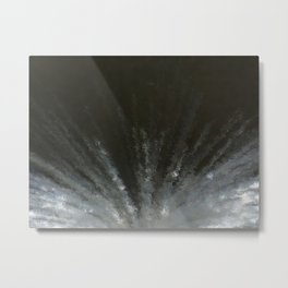 Flash in the night Metal Print