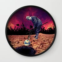golf Wall Clocks featuring Golf by Cs025