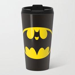 The Bat (betmen and batmen) Travel Mug