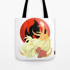 Of Many Tails Tote Bag