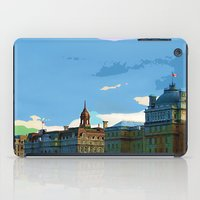 montreal iPad Cases featuring Old Montreal by LEEMARIE