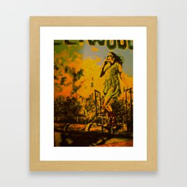 Park ave and Penniless Framed Art Print