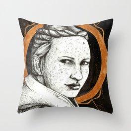 Ladies of Dragon Age: Scout Harding Throw Pillow